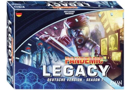 Asmodee Pandemic Legacy Season 1