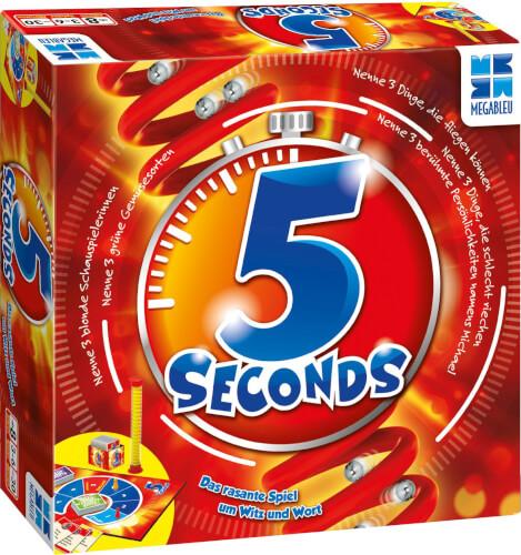 Megableu 678467 - Mega Bleu 5 Seconds, für 3-6 Spieler, ab 8 Jahren