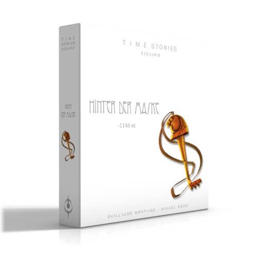 Asmodee T.I.M.E Stories - Hinter der Maske Erweiterung