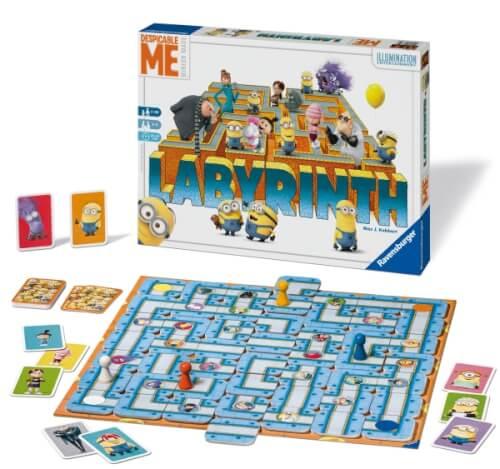 Ravensburger 26730 Minions 3 Labyrinth