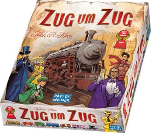 Asmodee Zug um Zug - Grundspiel