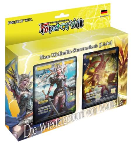 Force of Will V0 Neu-Walhalla-Starterdeck