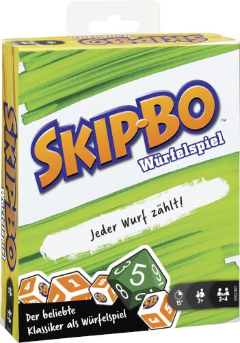 Mattel GKD67 Skip-Bo Würfelspiel (D)
