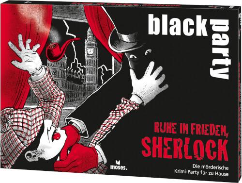black party Ruhe in Frieden, Sherlock