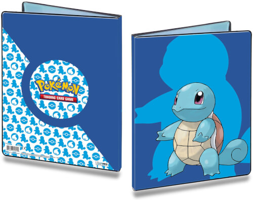 Ultra Pro Pokémon Squirtle 2020 9-Pocket Portfolio