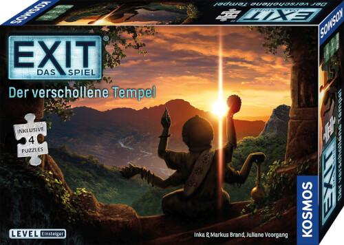Kosmos EXIT Das Spiel + Puzzle - Der verschollene Tempel (Einsteiger)