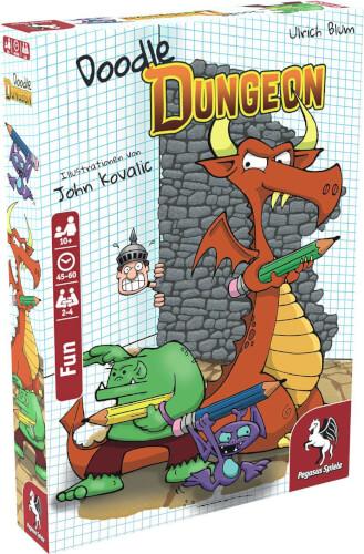 Pegasus Spiele Doodle Dungeon (deutsche Ausgabe)
