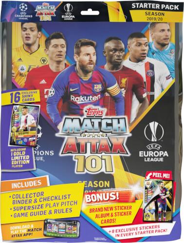 Match Attax 101 Starterpack 2019/2020