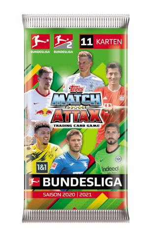 Match Attax Booster 2020/2021