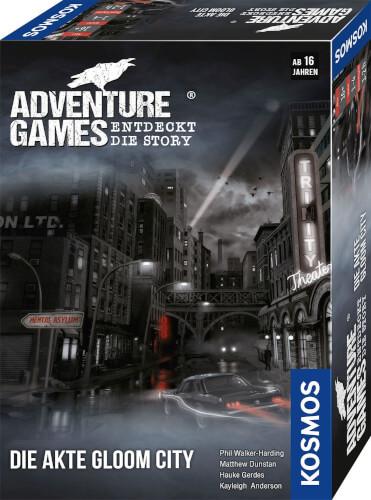 Kosmos Adventure Games - Die Akte Gloom City