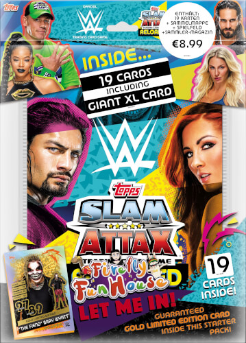 WWE Slam Attax 13 Starterpack