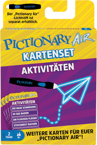 Mattel GYP07 Pictionary Air Extension Pack Activities (D)