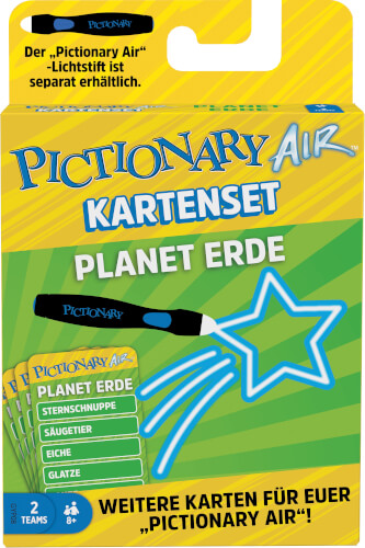 Mattel GYP08 Pictionary Air Extension Pack Planet Erde (D)