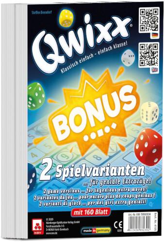 NSV QWIXX - BONUS - INTERNATIONAL - ZUSATZBLÖCKE (2er)