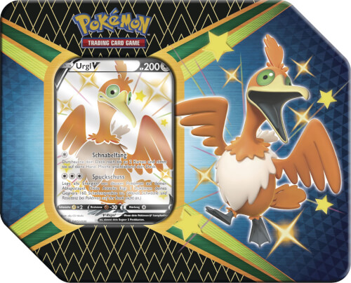 Pokémon Schwert & Schild 04.5 Tin Shiny Urgl
