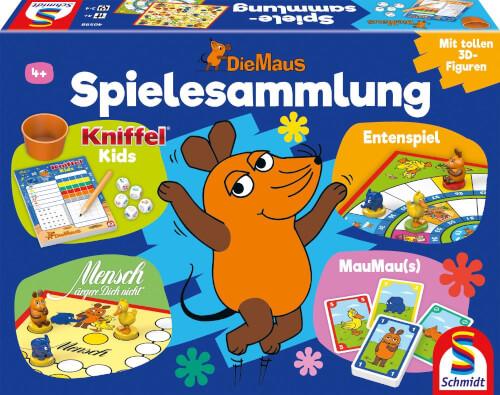 Schmidt Spiele 40598 Die Maus, Spielesammlung