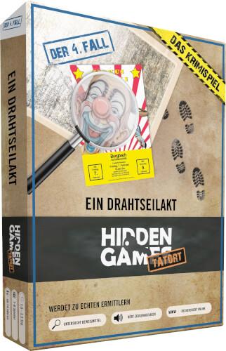 Krimi-Spielebox: Hidden Games Tatort #Ein Drahtseilakt (Fall 4)