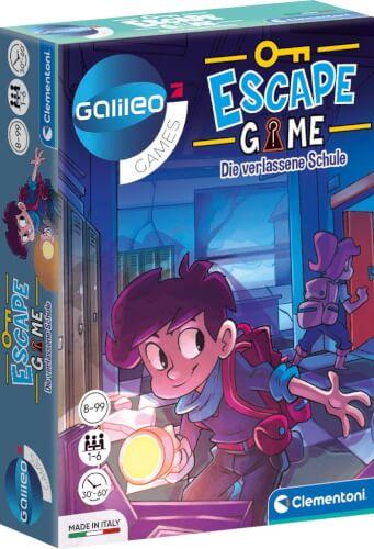 Clementoni Galileo Escape Game - Die verlassene Schule