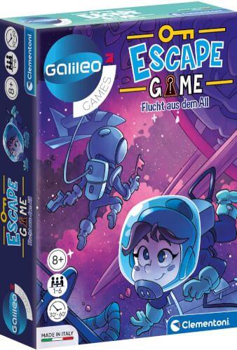 Clementoni Galileo Escape Game - Flucht aus dem All