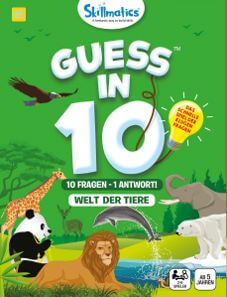Spin Master Guess in 10- Welt der Tiere