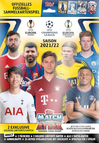 Champions League Match Attax Booster 2021/2022