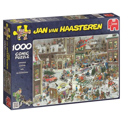 Jumbo 13007 Puzzle Jan van Haasteren, Die Weihnachten, 1000 Teile