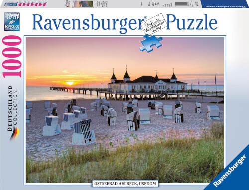 Ravensburger 19112 Puzzle Ostseebad Ahlbeck, Usedom 1000 Teile