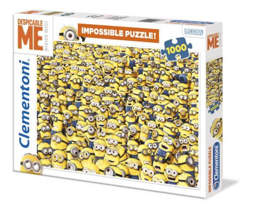 Clementoni Puzzle Minions Impossible 1000 Teile