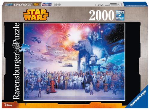 Ravensburger 16701 Puzzle Star Wars Universum 2000 Teile