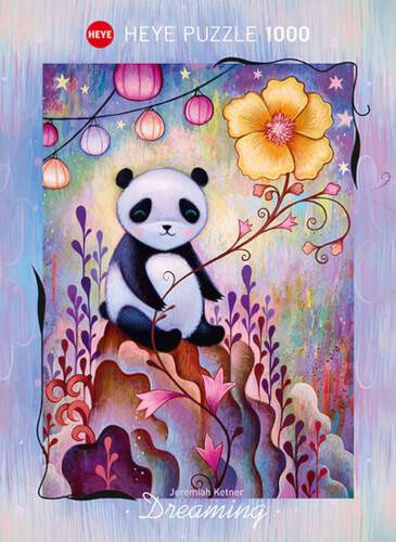 Puzzle Panda Naps Standard 1000 Teile