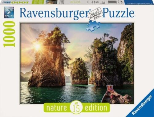 Ravensburger 13968 Puzzle Three rocks in Cheow, Thailand 1000 Teile
