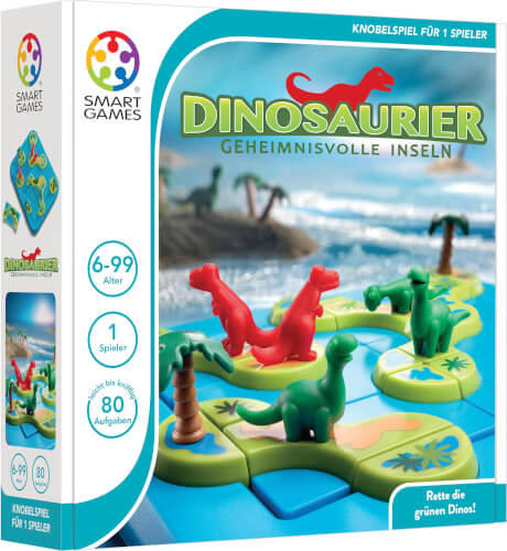 SMARTGAMES Dinosaurier - Geheimnisvolle Inseln