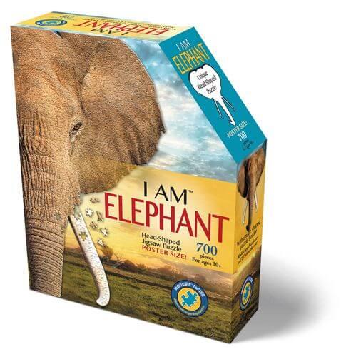 Madd Capp - Konturpuzzle Elefant 700 Teile