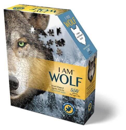 Madd Capp - Konturpuzzle Wolf 550 Teile