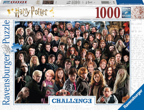 Ravensburger 14988 Puzzle Challange Harry Potter 1000 Teile