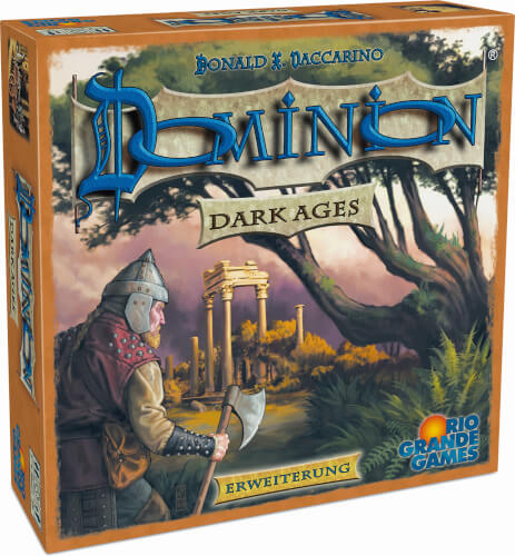 ASS Dominion / Erweiterung Dark Ages. Gesellschaftsspiel