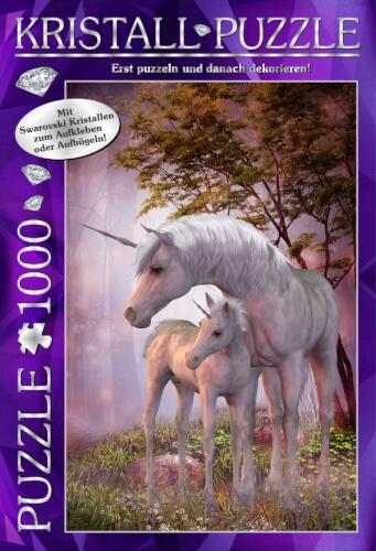 M.I.C. Kristall Puzzle 1000 Teile Motiv: My Dreamland mit Swarovski Kristallen