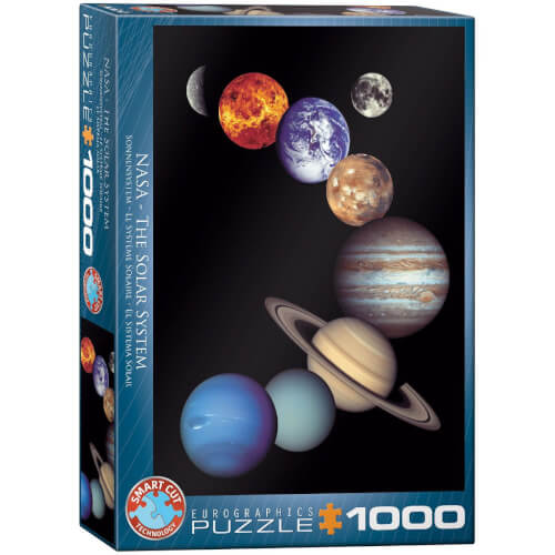 EuroGraphics Puzzle NASA Sonnensystem 1000 Teile