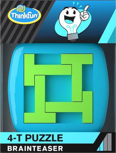 ThinkFun 76382 Thinkfun A-Ha! 4-T Puzzle