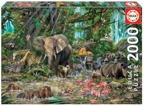 Educa - African Jungle 2000 Teile