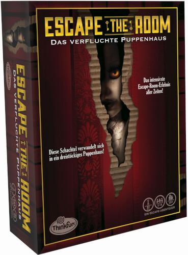 ThinkFun 76371 Escape the Room 3 - Das verfluchte Puppenhaus