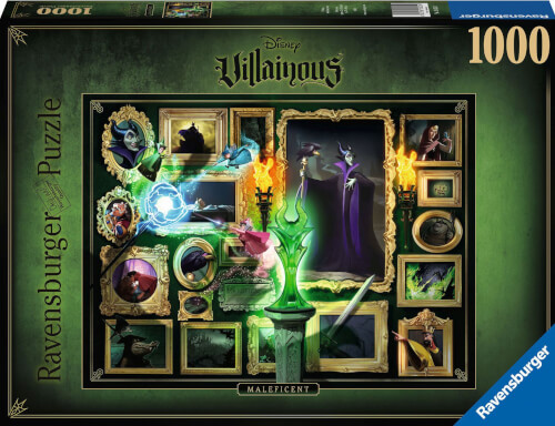 Ravensburger 15025 Puzzle Villainous: Malificent 1000 Teile