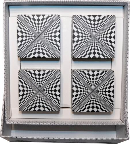 GeoBender® Cube 4er Geschenkbox ''Abstract®''