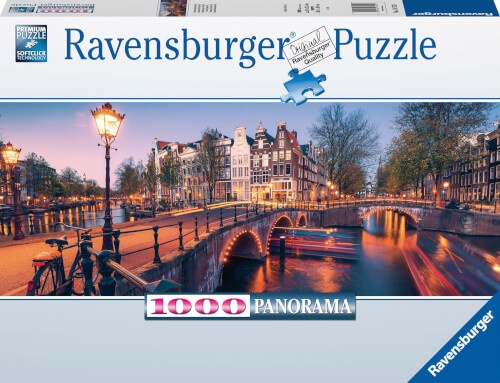 Ravensburger 16752 Puzzle Abend in Amsterdam 1000 Teile