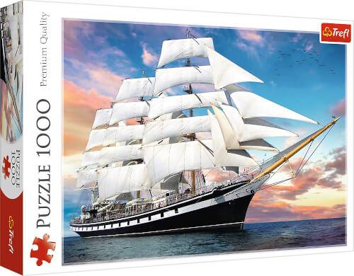 Puzzle 1000 Teile Segelschiff