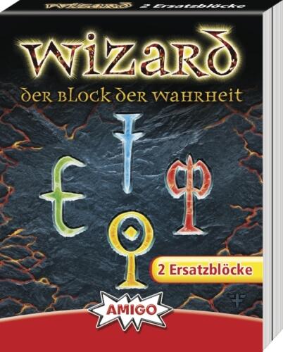 AMIGO 06902 Wizard Ersatzblöcke (2 Stk)