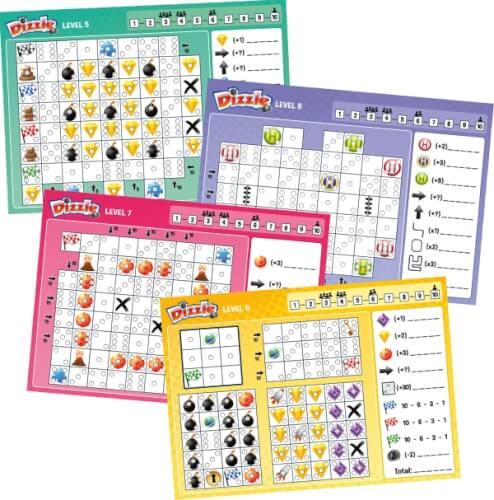 Schmidt Spiele Dizzle Level 5-8, Block