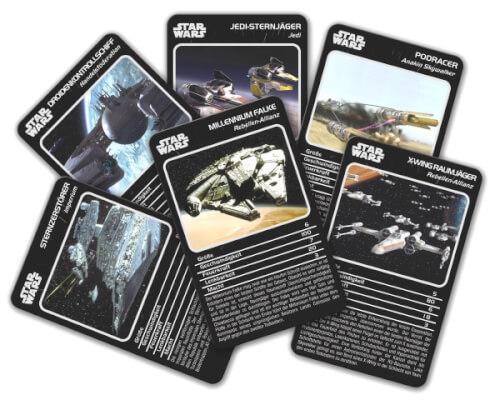 Winning Moves Top Trumps Star Wars Raumschiffe