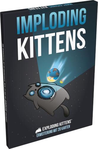Asmodee Exploding Kittens - Imploding Kittens