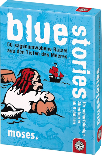 moses black stories Junior - blue stories - 50 sagenumwobene Rätsel aus den Ti